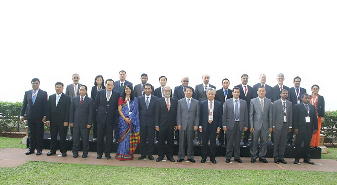 Delegates Gathered for the 2nd Chief Negotiators' Meeting in Mumbai on January 15-16, 2015