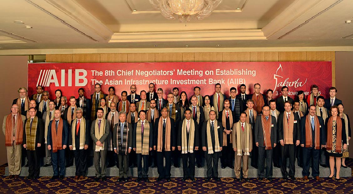The 8<sup>th</sup> AIIB Chief Negotiators' Meeting convened in Jakarta, Indonesia on November 3-4, 2015