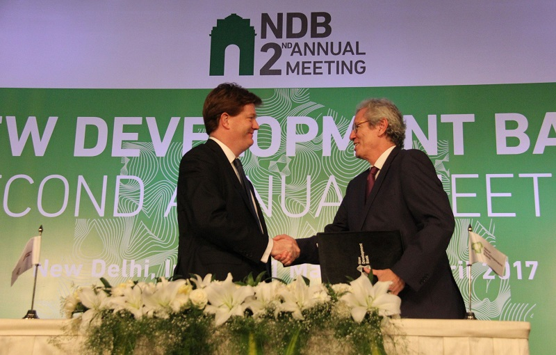 Asian Infrastructure Investment Bank and New Development Bank Sign Memorandum of Understanding to Promote Cooperation