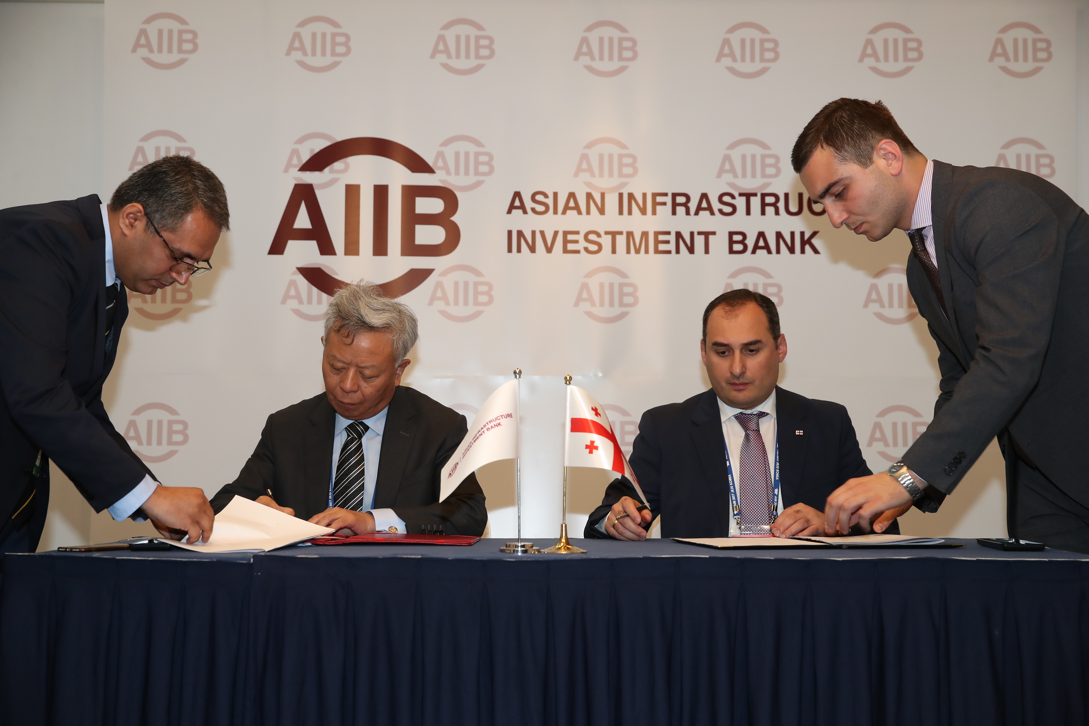 AIIB, Georgia Sign Loan Agreement for Batumi Bypass Road Project
