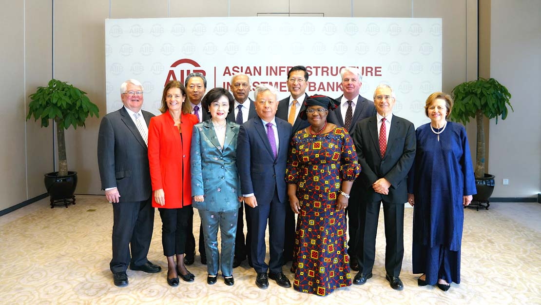 Three New Members Join the Asian Infrastructure Investment Bank's International Advisory Panel